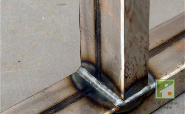 Сварка профильной трубы электродом сварка трубы электроды мр 3