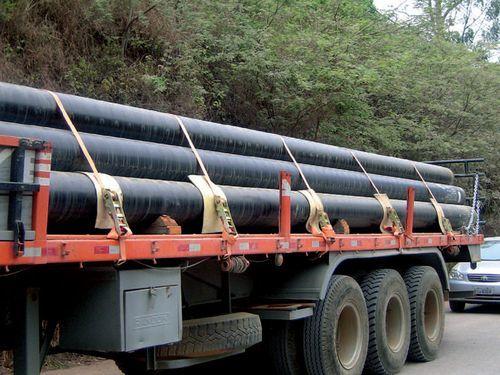 Транспортная характеристика металлических труб большого диаметра