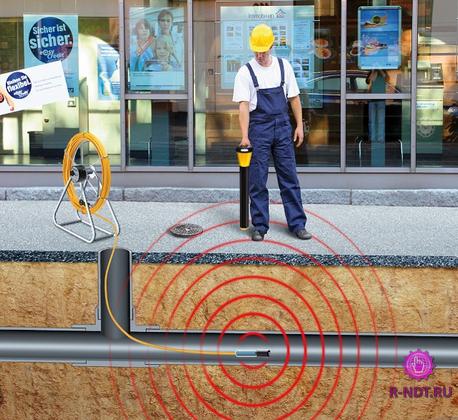 Как найти газовую трубу под землей пластиковую