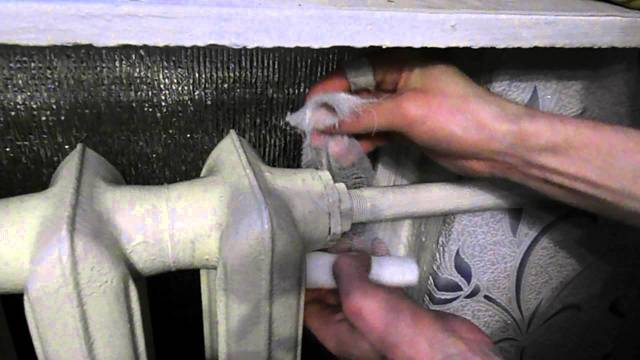 Как заделать трещину в отопительной трубе