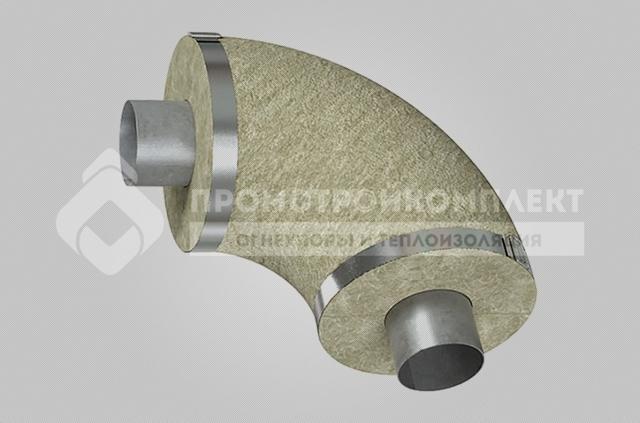 Цилиндры кашированные фольгой для изоляции трубопроводов