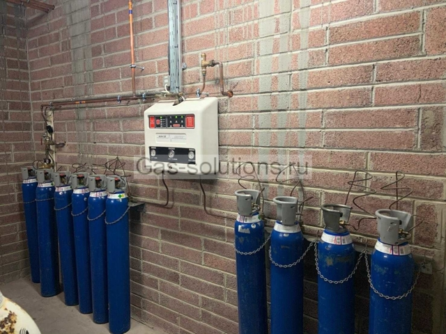 Диаметр трубопроводов медицинских газов