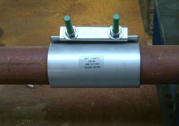 Течет труба отопления как отремонтировать