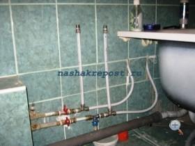 Водопровод фитинг или пайка