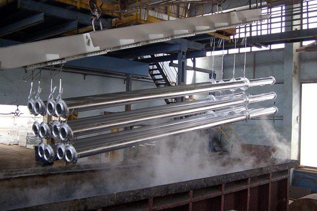 Цинкование труб толщина покрытия