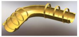 Футляр защитный композитный для трубы
