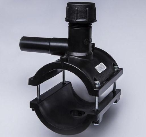 Седелка с резьбовым отводом для металлических труб резьбовые