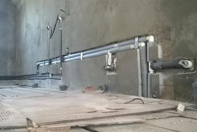 Полипропиленовые трубы замуровать в бетон