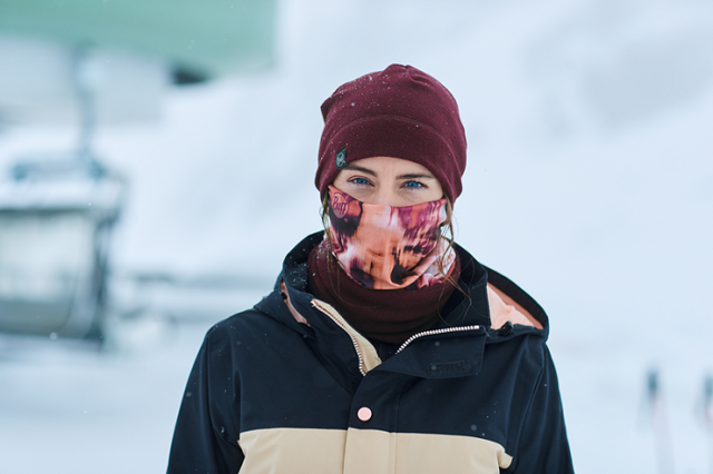 Как лыжники носят трубу