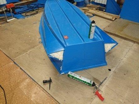 Самоделки из полипропиленовых труб для лодки пвх
