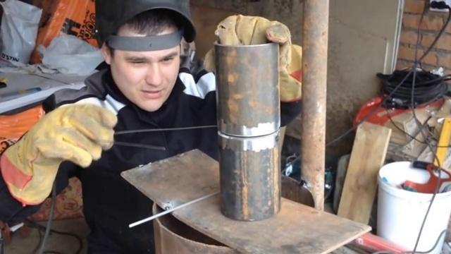 Сварка труб разного диаметра сваркой