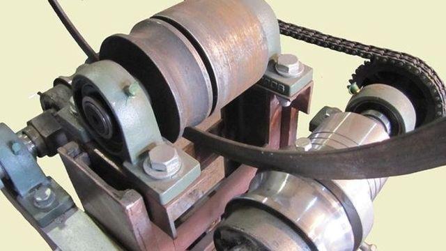 Самодельный станок для профильной трубы гнутые