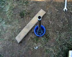 Абиссинская скважина с обсадной трубой своими руками