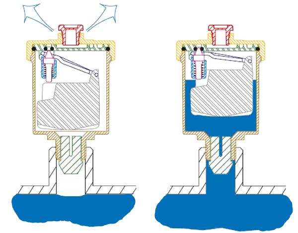 Фитинг клапан спуска воздуха