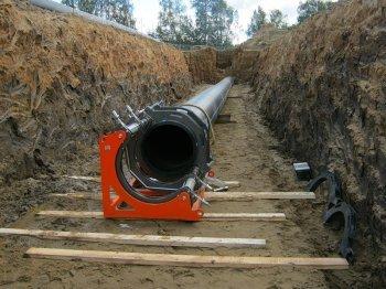Траншеи бесканальная прокладка трубопровода