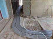 Как изолировать трубы отопления в полу