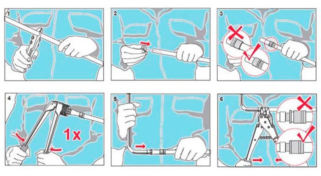 Фитинг аксиальный водорозетка надвижная с внутренней резьбой