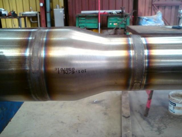 Сварка трубопровода из стали 12х18н10т