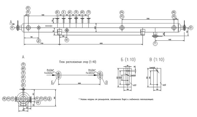 Трубный газовый расширитель тгр 400 чертеж