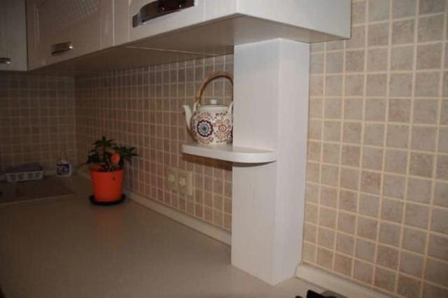 Декор водосточной трубы в квартире