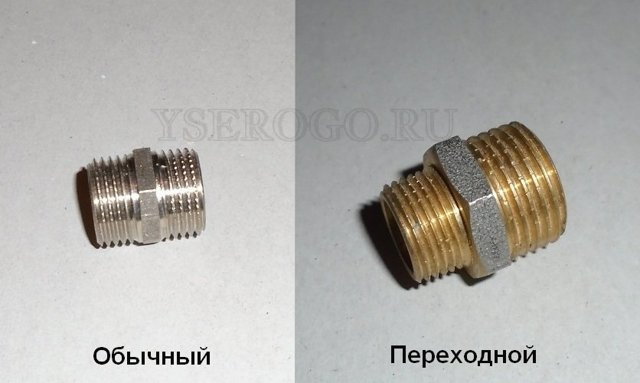 Типы соединений для гибкой трубы