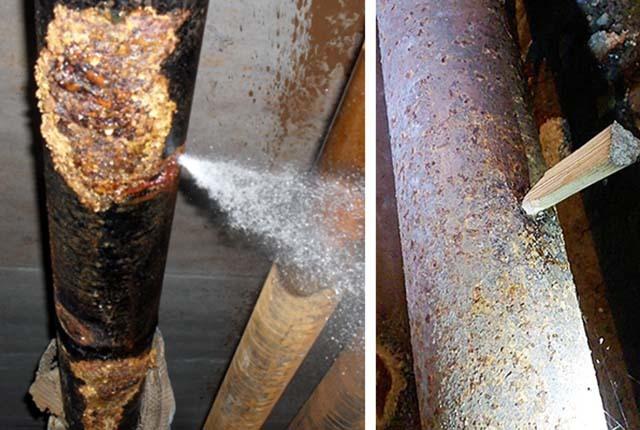 Треснула пластиковая труба как починить