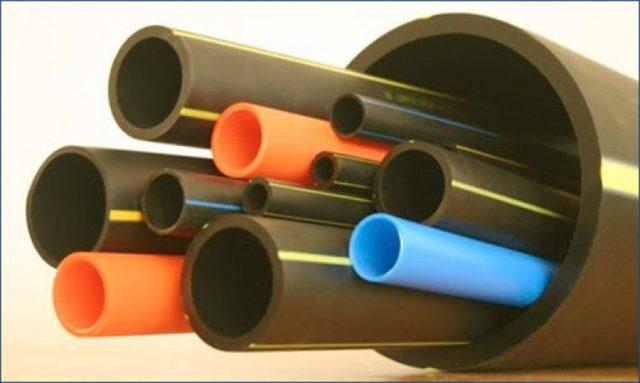 Типовые диаметры полиэтиленовых труб