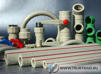 Какого диаметра бывают пластиковые трубы для отопления