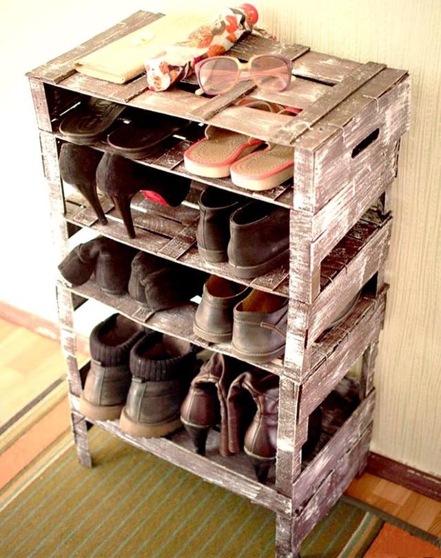Полка для обуви в прихожую своими руками из труб пвх