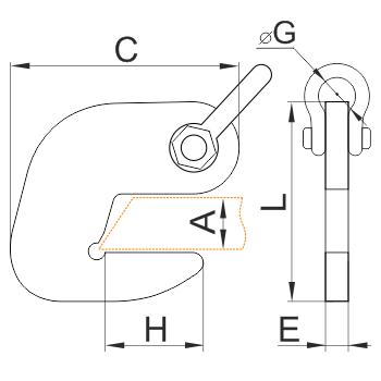 Трубные захваты для трубы