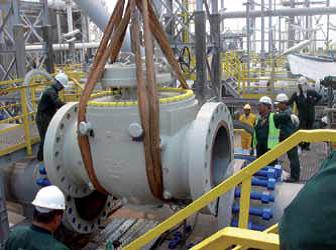 Запорная арматура для химической промышленности