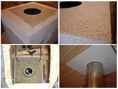 Как обмотать трубу асбестом в бане