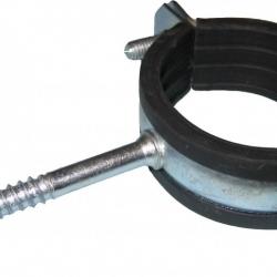 Фиксация трубы в трубе зажимом
