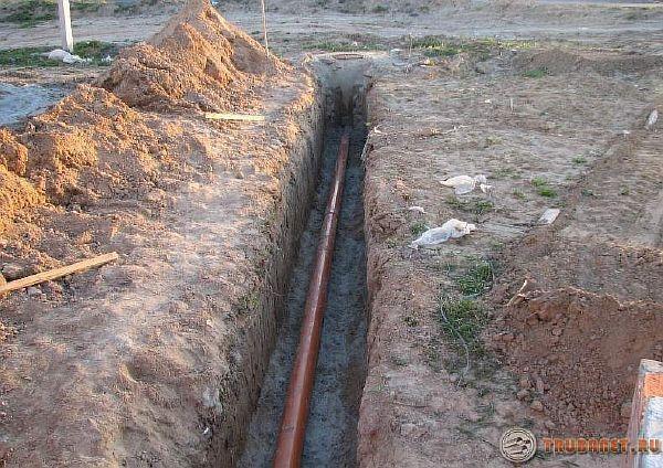 Полипропиленовые трубы для водопровода под землей