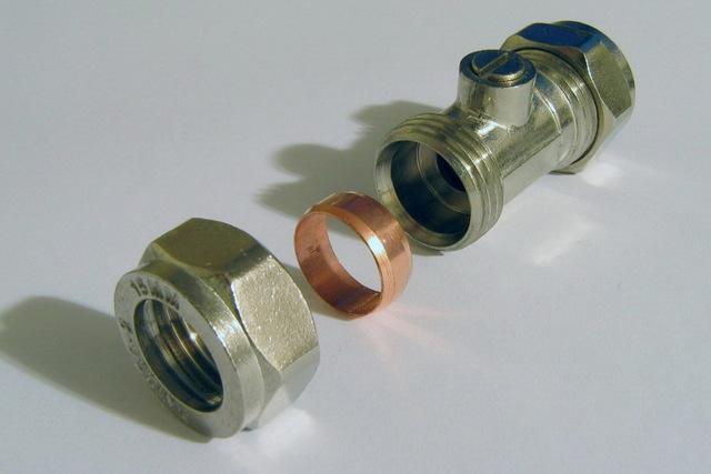 Фитинги для стальных труб переход