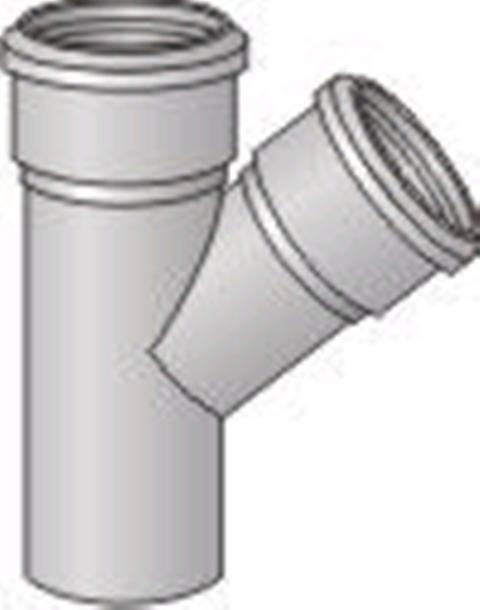 Тройники для бетонных труб