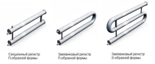 Трубные регистры для систем отопления