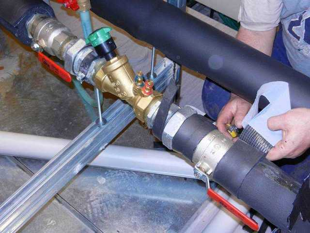 Тонкая теплоизоляция для труб