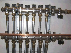 Система разводки труб в квартире