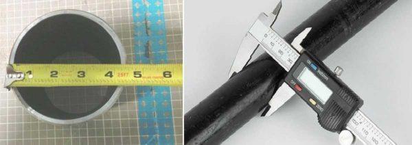 Толщина стенок стальных труб в зависимости от диаметра