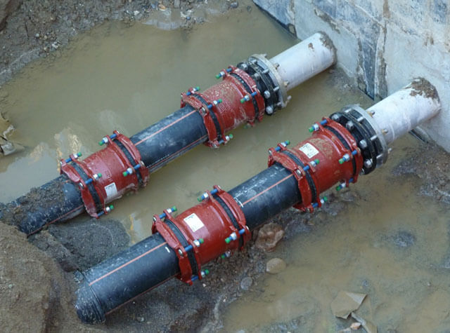 Хомут для соединения газовых труб