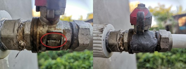 Холодная сварка для труб отопления с горячей водой под давлением