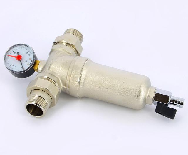 Фильтр отстойник для полипропиленовых труб