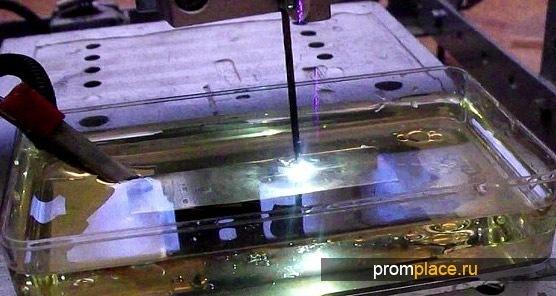 Химическая обработка трубной заготовки